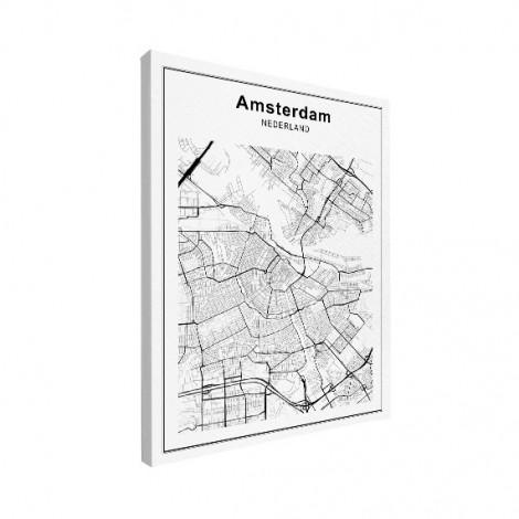 amsterdam-stadskaart-zwart-wit-op-canvas_2