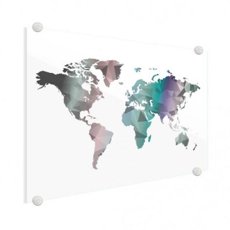 geometrische-wereldkaart-kleur-op-glas