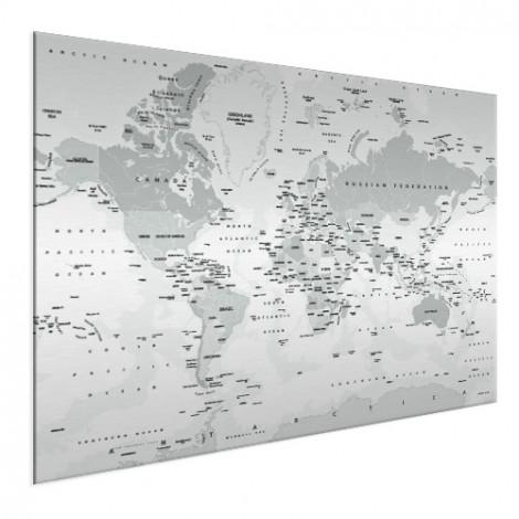 realistische-wereldkaart-grijstinten-op-aluminium_2
